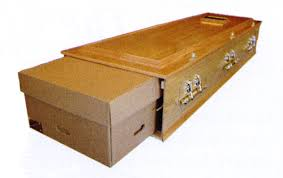 cardboard casket cardboard and woollen coffins adam greenwood funeral home