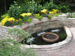 Small Water Features For Patio Garden Design Garden Design With Water Features On Pinterest