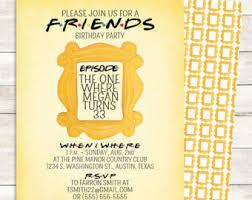 view friends tv show by littlepebblepaper on etsy