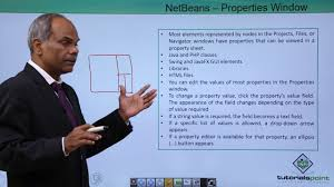tutorialspoint netbeans netbeans properties window youtube