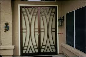 Steel Interior Security Doors Front French Door With Steel Security Door Exterior Security