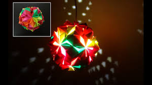 paper crafts diwali decoration ideas beautiful multicoloured