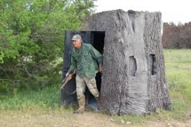 Plastic Deer Blinds Nature Blinds Imitate A Tree Stump Stump Unsuspecting Game Animals