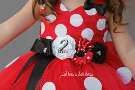 Buy Glam Red Minnie Costume by Classic Red Minnie Mouse Birthday Tutu Dress Holland
