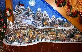 christmas villages photo gallery of villages with model ski slope christmas
