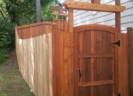 garden fence gate smalltowndjscom fence door designs
