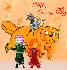 picture of happy halloween adventure time legend of korra happy halloween by