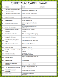 Christmas Games For Party Ideas - 7 free printable holiday games kids party games game ideas and