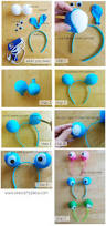 best place to buy a halloween costume googly eye headband tutorial one crafty place pinterest