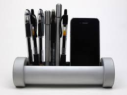 phx desk organizer for pens cords and more gadgetsin
