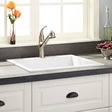 Cloud White Kitchen Cabinets by White Kitchen Sink Signature Hardware