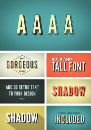 3d retro kinetic typography by gerardgerard videohive