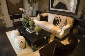 Black And White Sofas by 47 Beautifully Decorated Living Room Designs