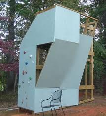 backyard rock climbing wall design and ideas of house