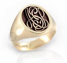 monogram ring gold monogram rings gold monogram signet ring urlifein pixels