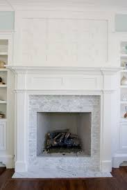 carrara marble fireplace small home decoration ideas gallery and