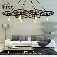 Large Pendant Lights For Kitchen by Aliexpress Com Buy Industrial Large Pendant Lights Wrought Iron
