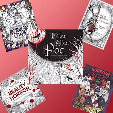 scary coloring books for adults popsugar smart living