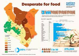 World Hunger Map by Hunger Stalks Four Million Kenyans As Drought Set To Worsen