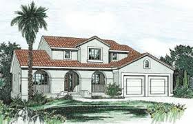 southwest style house plans southwestern house plan 4 bedrooms 2 bath 2107 sq ft plan 10 819