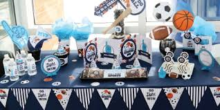 baby shower sports theme go fight win sports birthday party theme bigdotofhappiness