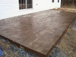 Diy Concrete Patio Cost Of Paver Patio Or Stamped Concrete Home Outdoor Decoration
