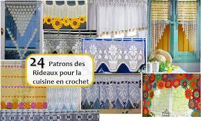 modele rideau de cuisine 24 patrons des rideaux pour la cuisine en crochet crochet et