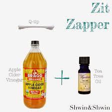 zit zapper dip end of q tip in bragg u0027s apple cider vinegar the