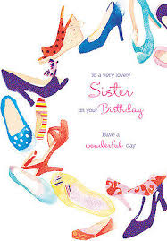 birthday cards with shoes happy birthday card ring of shoes design size 9 00 x 4 75