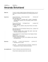 Resume Templates For Retail Jobs Cover Letter Resume Examples Bank Teller Resume Examples For Bank