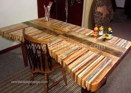 bureau palette bois faire un bureau en bois de palette des modèles page 2