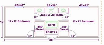jack jill bathroom 58 beautiful photograph of jack and jill bathroom floor plans