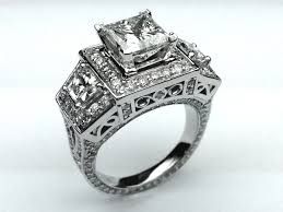 big engagement rings for big wedding rings engagement rings 7 princess cut