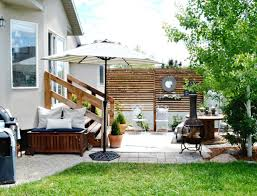 Backyard Ideas On A Budget Patios by Small Patio On A Budget My Fabuless Life