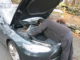 life with tesla model s at last some maintenance needed new tires