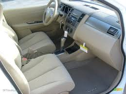beige interior 2011 nissan versa 1 8 s hatchback photo 45453260