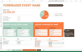 Vacation Tracking Spreadsheet Fundraiser Tracking Spreadsheet Nbd