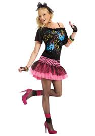 womens costumes neon 80s costume retro womens costumes