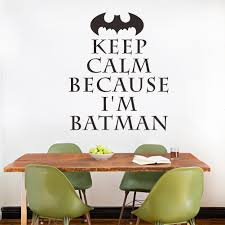 online get cheap batman vinyl stickers aliexpress alibaba group diy batman art decorations boys bedroom wall mural quotes decal vinyl sticker kid