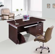 Simple Wooden Office Table Solid Wood Home Office Furniture Small Computer Desk White Oak