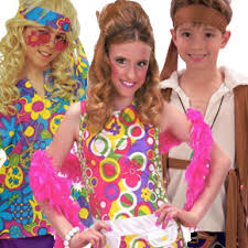 60s and 1970s 70s fancy dress