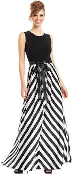 betsy and adam dresses betsy adam chevron striped gown where to buy how to wear