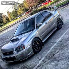 2005 subaru wrx custom 2005 subaru wrx sti enkei vr5 hr lowering springs showpacks