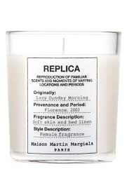 maison martin replica lazy sunday morning candle nordstrom