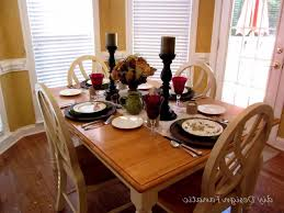 centerpieces ideas dining room modern thanksgiving dinner settings