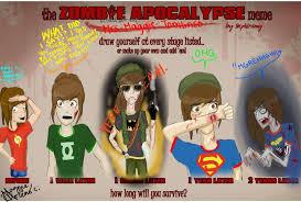 Zombie Apocalypse Meme - zombie apocalypse meme by mrs maggie tomlinson on deviantart