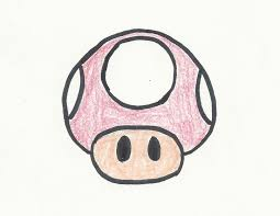 draw mario mushroom 5 steps pictures wikihow