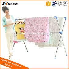 Folding Clothes Dryer Rack X Shape Type Telescopic Collapsible Clothes Rack Folding