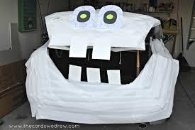 Halloween Trunk Or Treat Ideas by Trunk Or Treat Idea Diy Mummy The Cards We Drew