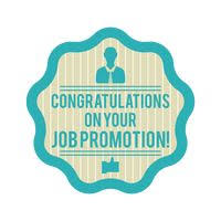 congratulations promotion card celebration celebrations banner banners card cards text texts